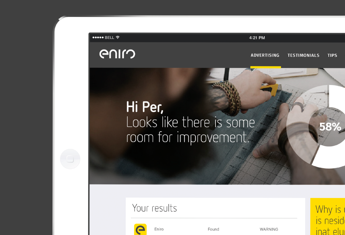Eniro Visual Identity – Grow